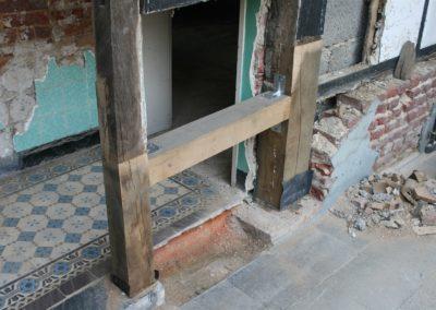 Altbausanierung Eichenfachwerkhaus (1)